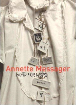 Annette messager word for word