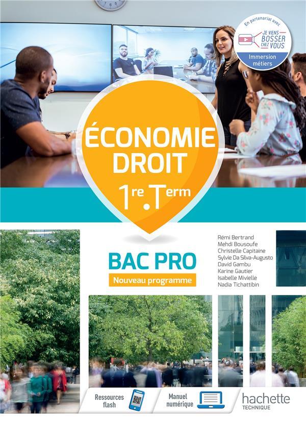 Economie-droit 1re-term bac pro - cahier de l'eleve - ed.2020