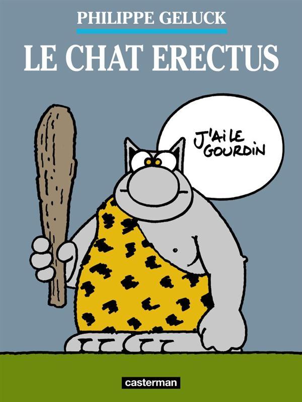 Le Chat T.17 ; le Chat erectus