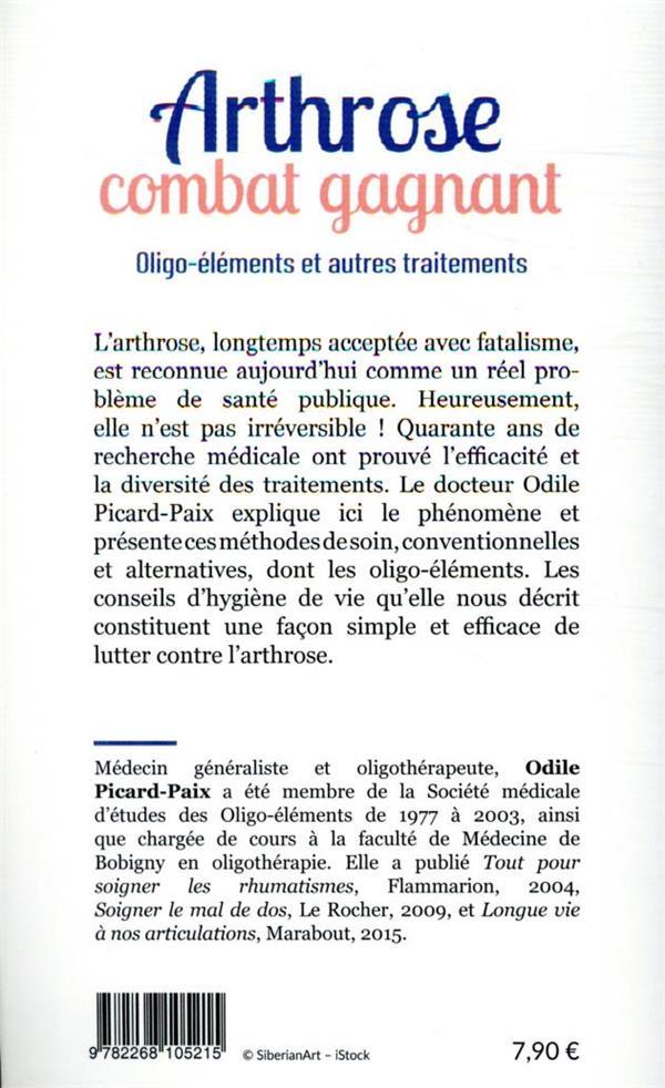 Arthrose, combat gagnant : oligo-éléments et autres traitements