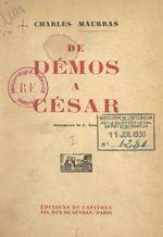 De Démos à César (1)