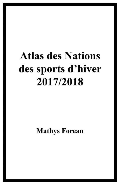 Atlas des Nations des sports d'hiver 2017/2018