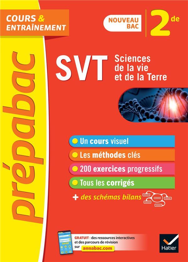 DUCASSE/FORICHON/VAH - PREPABAC  -  SVT  -  2NDE