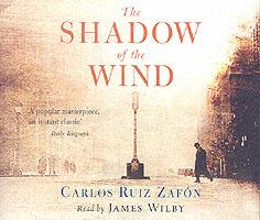 The shadow of the wind - audio cd read by james wilby