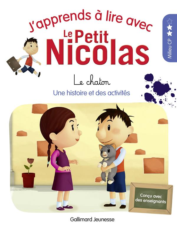 j'apprends à lire avec Le Petit Nicolas t.7