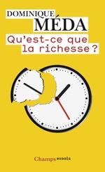 Vente EBooks : Qu'est-ce que la richesse ?  - Dominique Méda