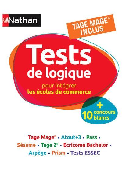 TESTS DE LOGIQUE POUR PREPARER LES ECOLES DE COMMERCE Simonin Elisabeth