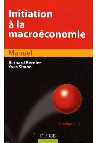 Initiation A La Macroeconomie - 9eme Edition