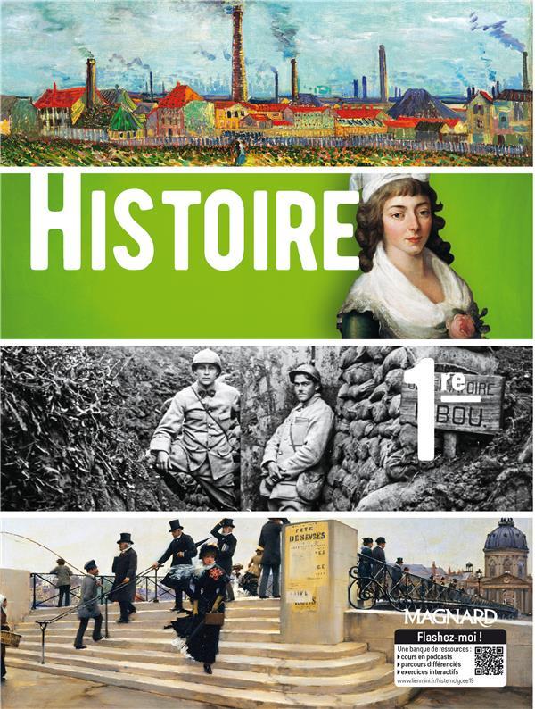 Histoire ; 1re ; manuel élève (édition 2019)
