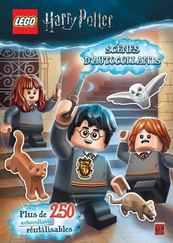 Lego - Harry Potter ; scènes d'autocollants