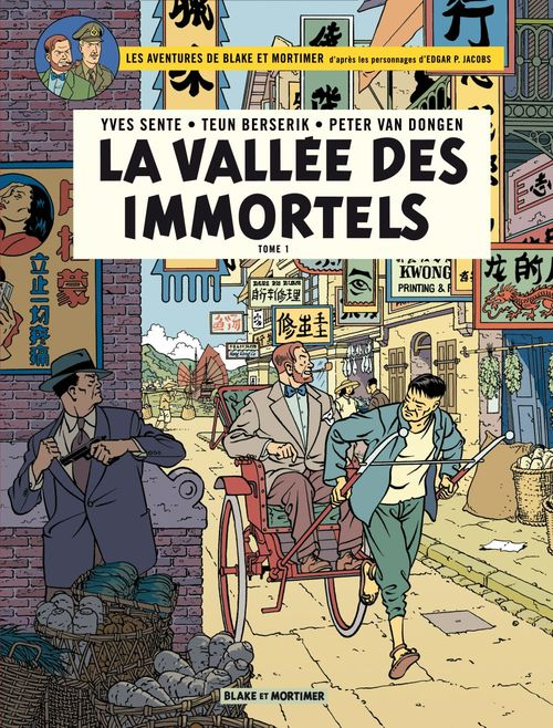 Blake & Mortimer - Volume 25 - La Vallée des immortels - Tome 1