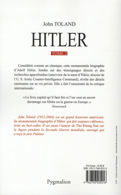 Hitler t.2 ; novembre 1938-30 avril 1945