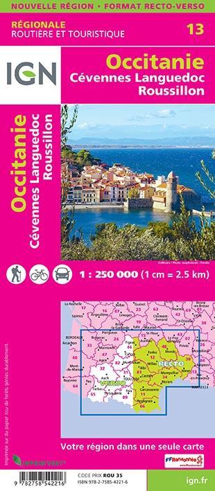 NR13 ; Occitanie, Cévennes, Languedoc-Roussillon