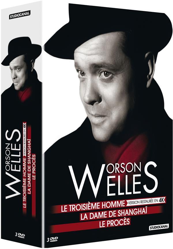 Orson Welles: Le troisième homme + La dame de Shanghaï + Le procès