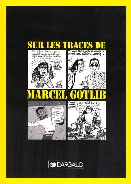 Monographies t.1 ; sur les traces de marcel gotlib