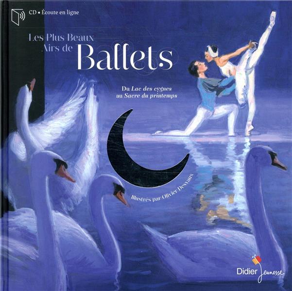 Les plus beaux airs de ballet ; du Lac des cygnes au Sacre du printemps