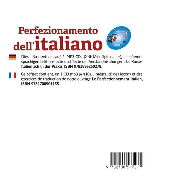 Perfezionamento dell'italiano ; C1
