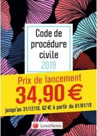 Code de procédure civile (édition 2019)