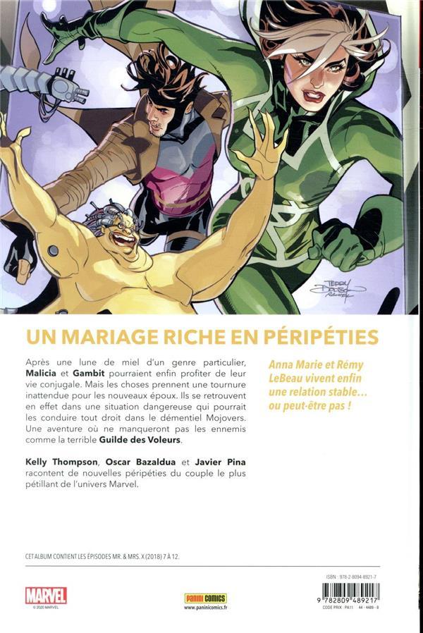 X-Men - Mr & Mrs X T.2 ; Gambit & Malicia à jamais