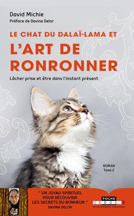 Le chat du dalaï-lama et l'art de ronronner t.2 ; lâcher prise et être dans l'instant présent