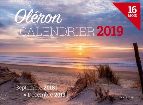 Calendrier ; Oléron (édition 2019)