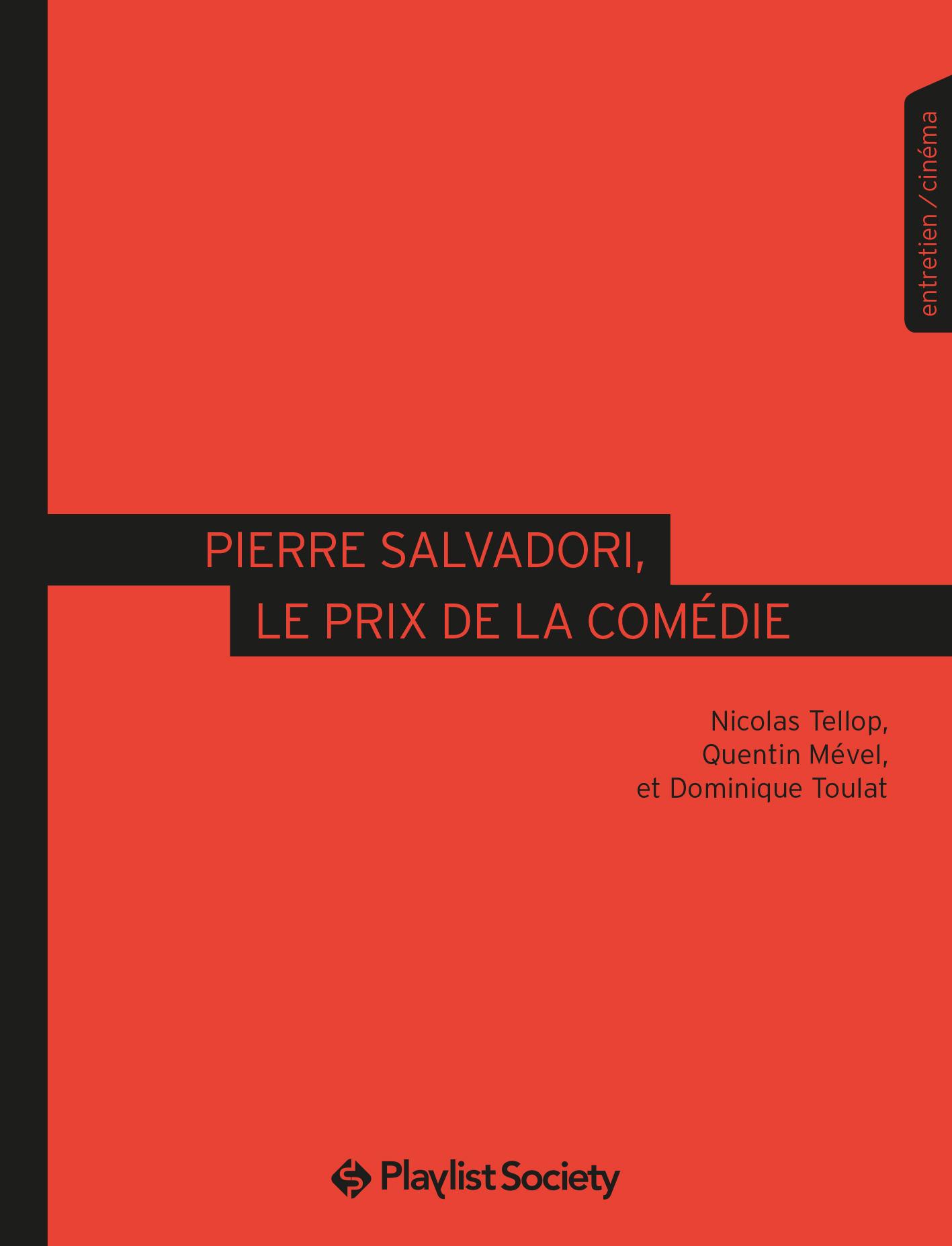Pierre Salvadori, le prix de la comédie