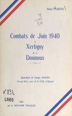 Combats de juin 1940, à Xertigny et à Dounoux