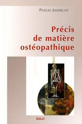 Precis De Matiere Osteopathique