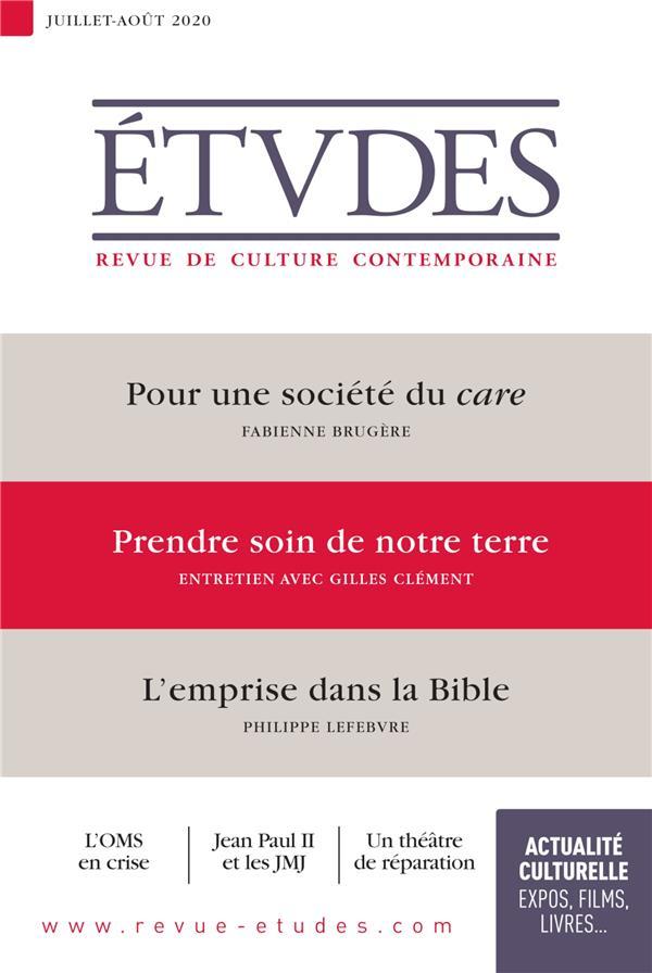 REVUE ETUDES N.4273  -  JUILLET 2020