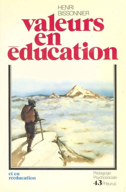Valeurs en éducation et en rééducation