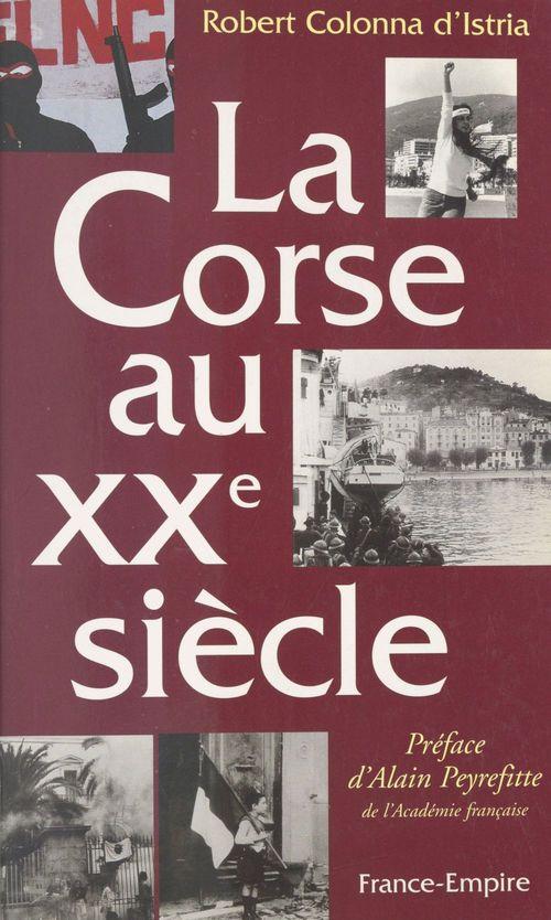 La Corse au XXe siècle