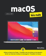 Vente Livre Numérique : MacOS X X pour les Nuls, grand format  - Bob LEVITUS