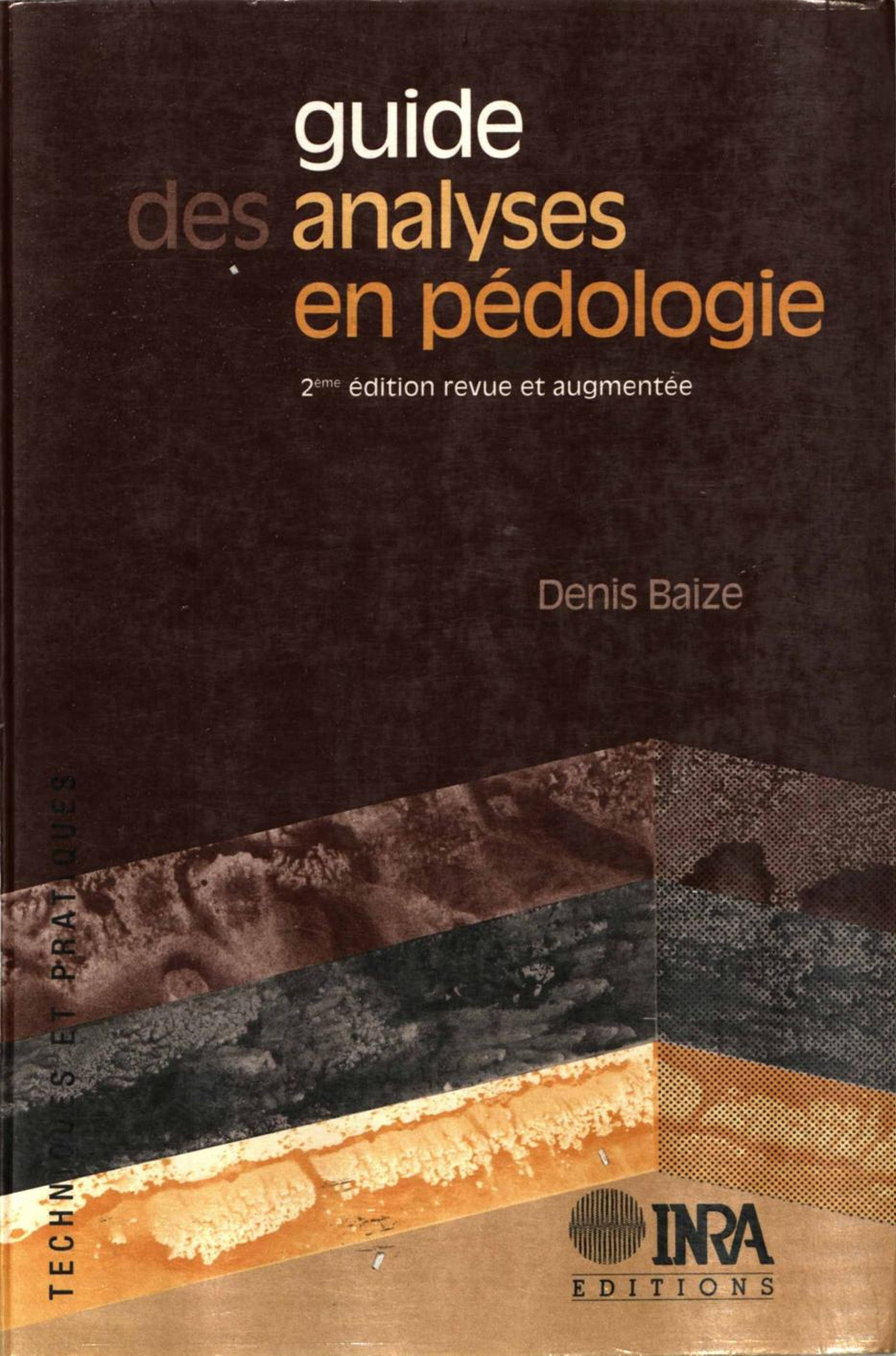 Guide des analyses en pédologie (2e édition)