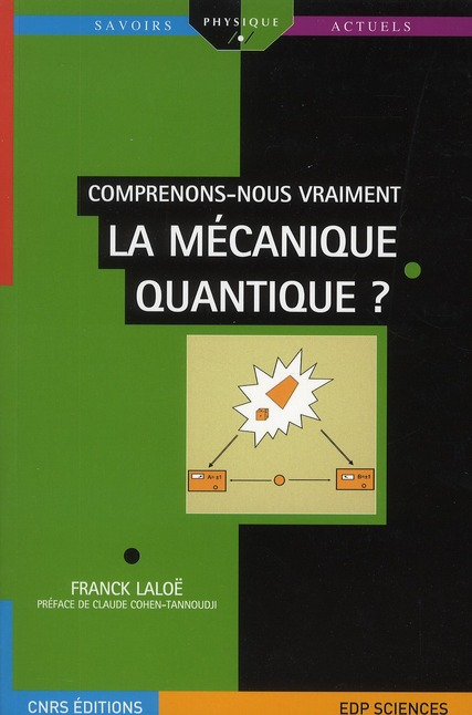 Comprenons Nous Vraiment La Mecanique Quantique ?
