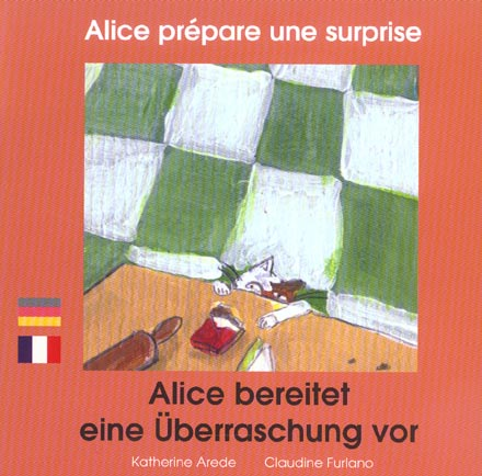 alice prepare une surprise (francais-allemand)