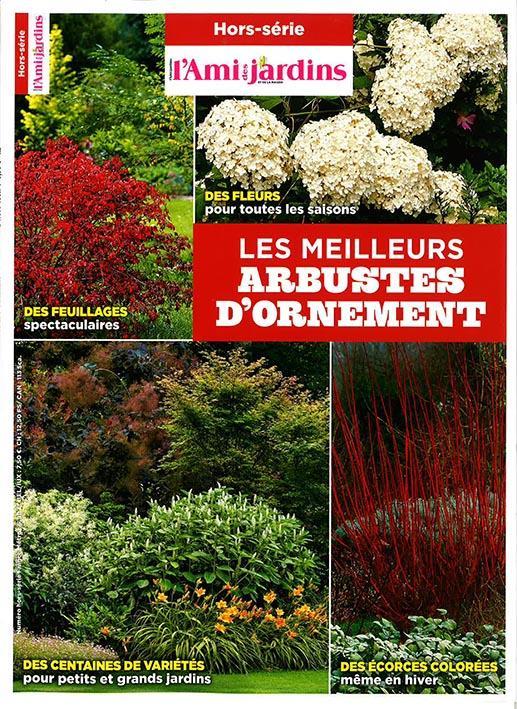 L'AMI DES JARDINS ; les meilleurs arbustes d'ornement