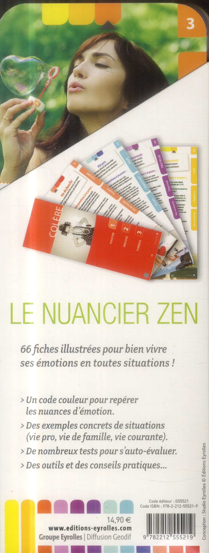 J'ai décidé d'être zen ; et bien dans mes émotions ; 66 fiches illustrées pour bien vivre ses émotions