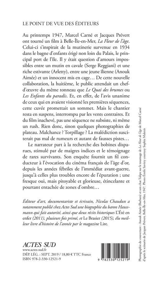 L Ile Des Enfants Perdus Dans L Enfer De Carne Nicolas Chaudun Actes Sud Grand Format Le Hall Du Livre Nancy