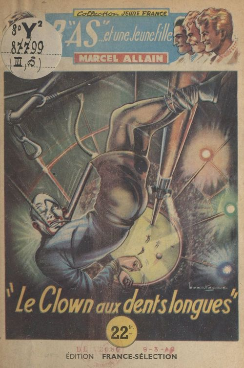 Le clown aux dents longues !