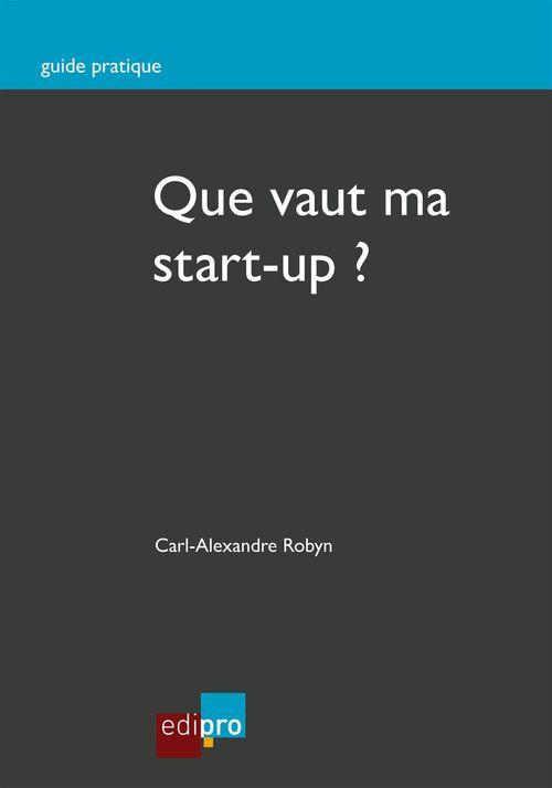 Que vaut ma start-up ?