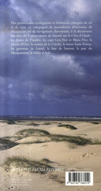 Côte d'opale ; promenades écologiques et littéraires