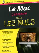 Vente Livre Numérique : Le Mac, 2e Essentiel Pour les Nuls  - Bob LEVITUS