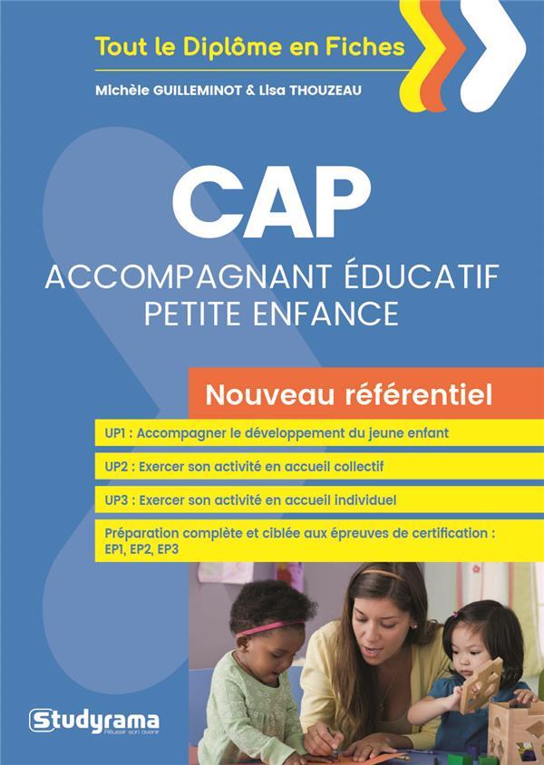 Cap Accompagnement Educatif Petite Enfance Nouveau Referentiel
