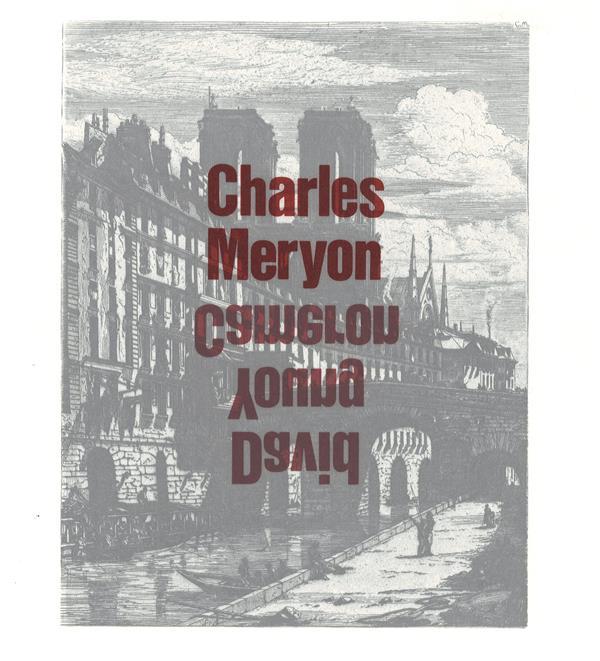 Charles Meryon, David Young Cameron