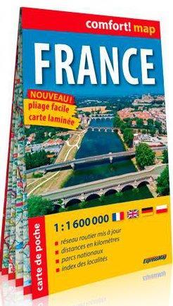 CONFORT MAP ; France