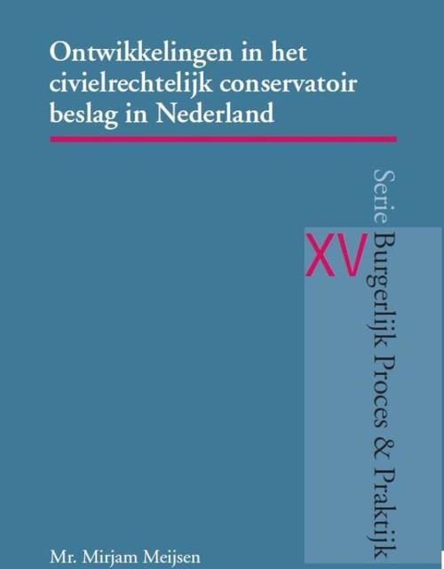 Ontwikkelingen in het civielrechtelijk conservatoir beslag in Nederland