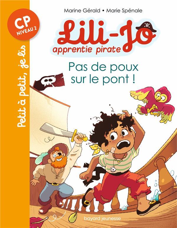 Lili-Jo, apprentie pirate t.3 ; pas de poux sur le pont !