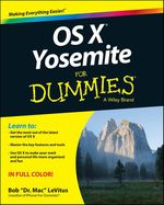 Vente Livre Numérique : OS X Yosemite For Dummies  - Bob LEVITUS