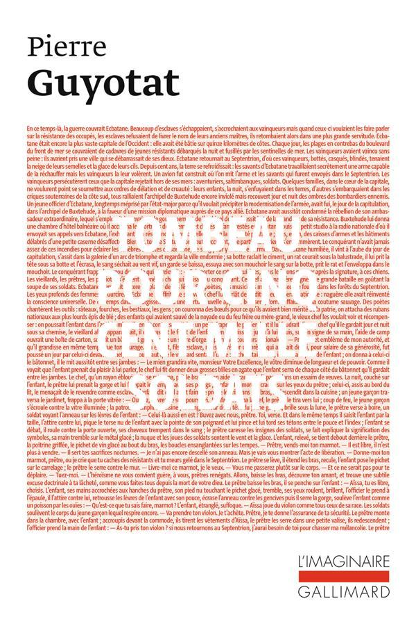 Tombeau pour cinq cent mille soldats ; sept chants