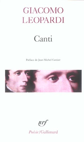 Canti / oeuvres morales (choix)